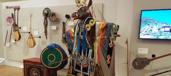 Mongolia exhibit in the Musical Instrument Museum phoenix