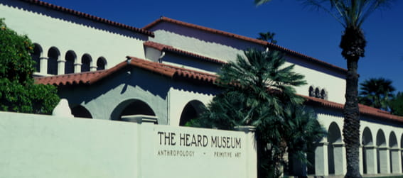 entrance to the heard museum phoenix